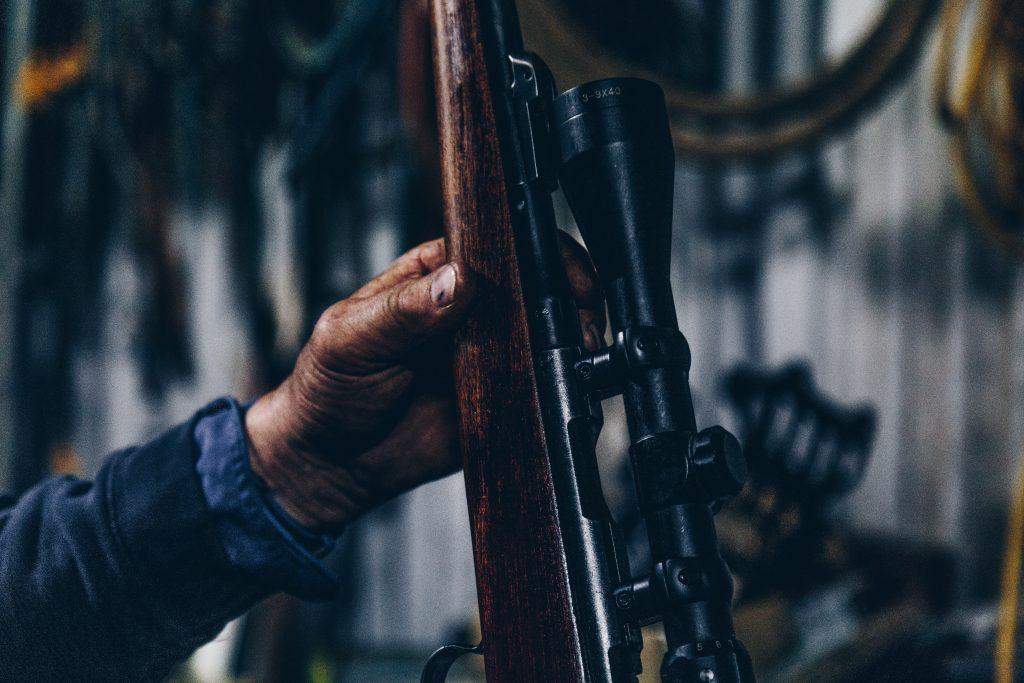 Deer hunting rifle