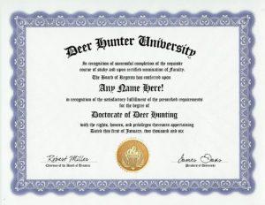 Funny Deer Hunter Gag Gifts