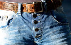 Old hunting belt