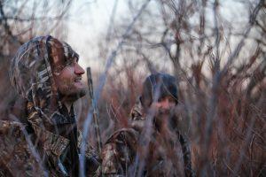 Cold turkey hunters