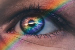 What colors can the eye see