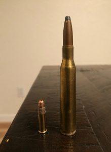 .22 vs .270 for hunting deer
