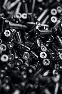 Used .22 bullets
