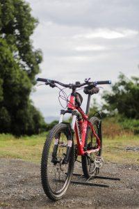 Mountain bike setup for hunting
