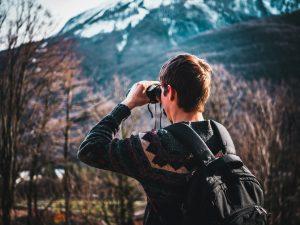 Binoculars in daylight