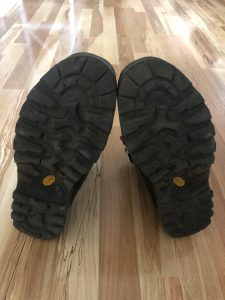 Soles on Lowa hunting boots