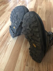 Hunting boot soles
