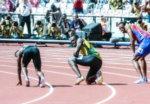 Usain Bolt can run 27 mph